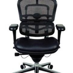 Best Chair After Back Surgery Slipcover For Oversized Raynor Ergohuman Leather Seat Lem4erg Loading Zoom