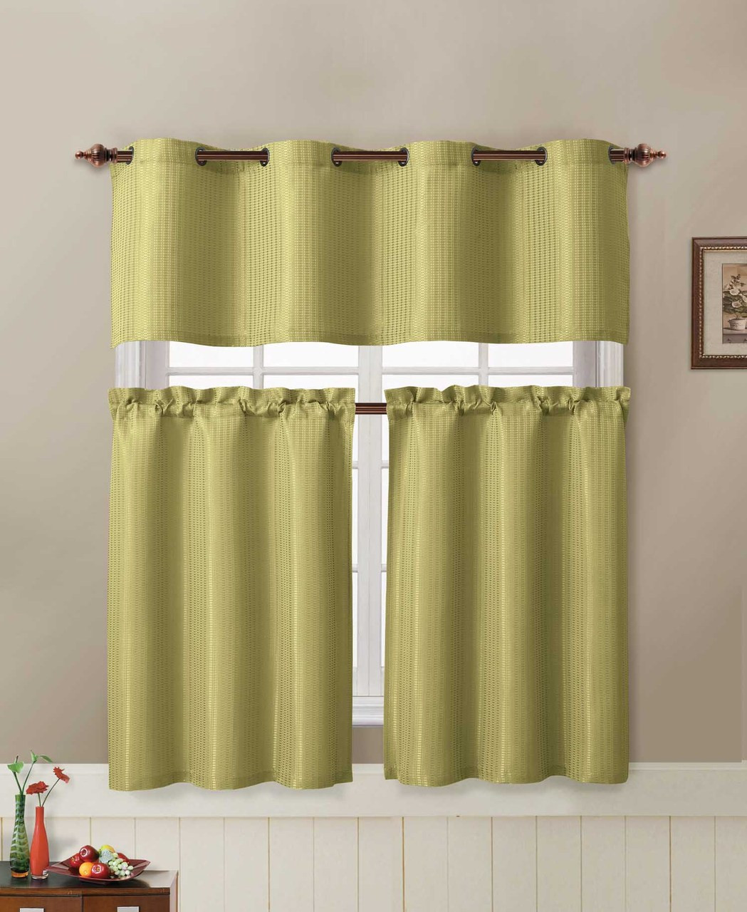 kitchen curtains sets counters 3 piece curtain set bathroom and more