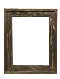 """2-5/8"""" Rustic Barnwood Distressed Wood Picture Frame"""