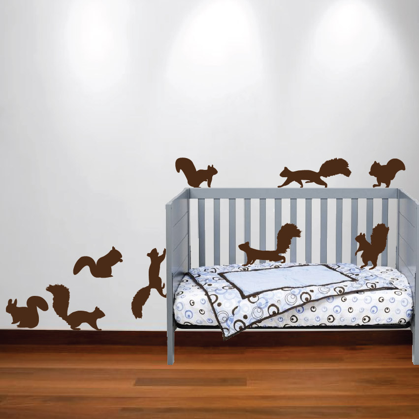 Nursery Animal Wall Decals