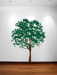 Large Wall Nursery Tree Decal Olive Leaves #1117 ...