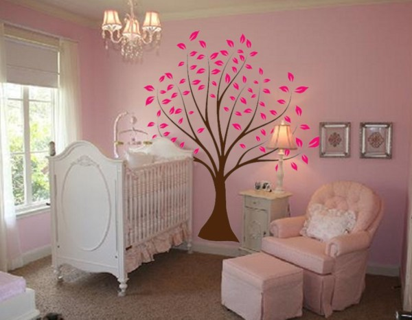 Girl Nursery Tree Wall Decal