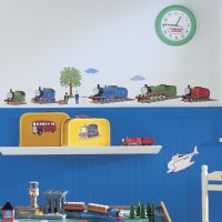 Thomas The Tank Engine and Friends Peel and Stick Wall ...