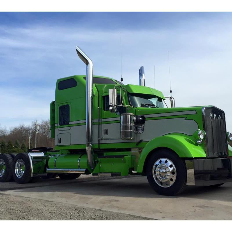 Custom Sleeper Truck International