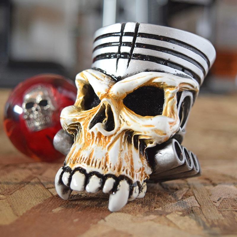 Piston Skull Shift Knob Kit Raney S Truck Parts