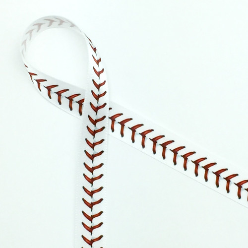 """baseball stitches in red 5 8"""""""