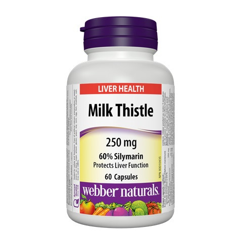 Webber Naturals Milk Thistle Extract - 維柏健奶薊草複合精華素 | LOTUSmart 樂濤
