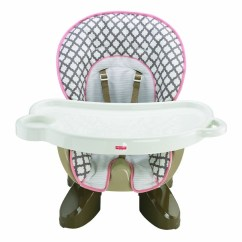 Space Saving High Chair Baby Shower Decorations Fisher Price Spacesaver Chocolate Cloud For Moms Image 1