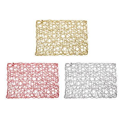 Placemats Set of 4 Holiday Decorative 12x18 Rectangle
