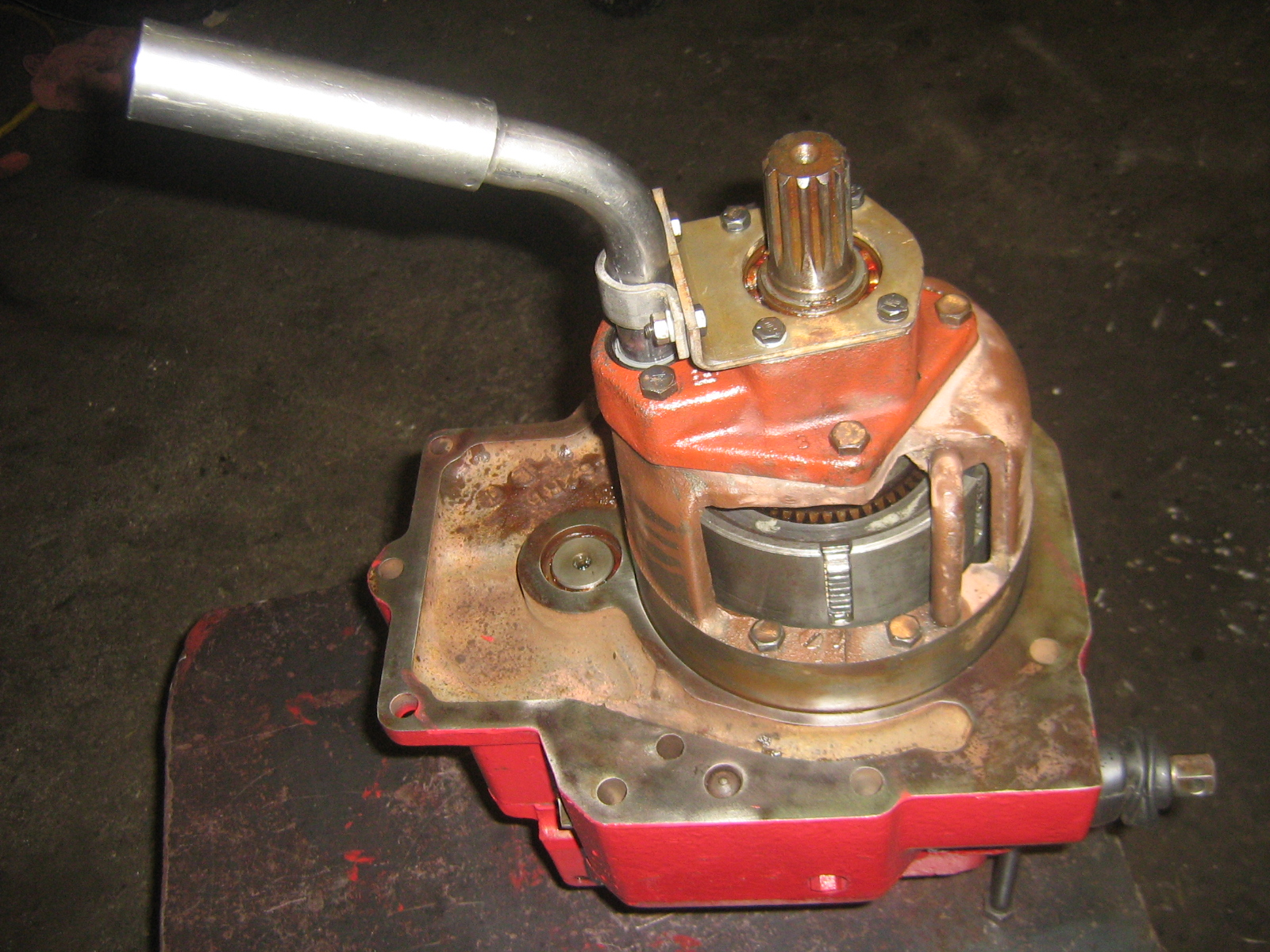 hight resolution of ih tractor pto unit repair information