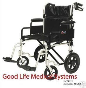 bariatric transport chair 500 lbs wheelchair that stands you up heavy duty brakes good life