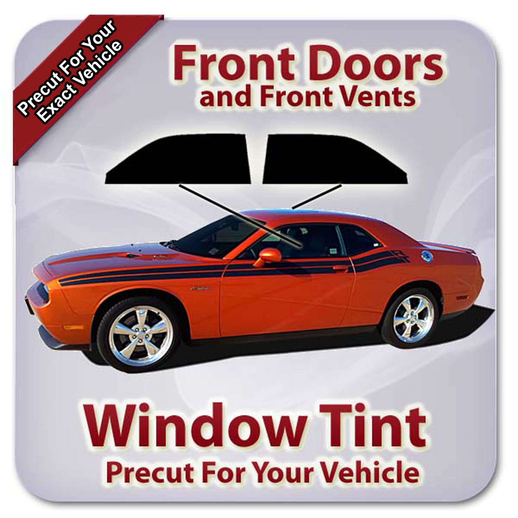 hight resolution of details about precut window tint for dodge ram 1500 crew cab 2009 2018 front doors