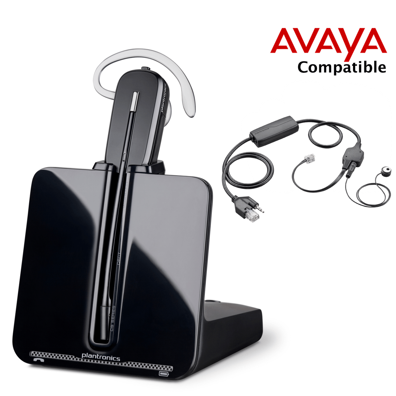 avaya compatible plantronics voip wireless headset bundle loading zoom plantronics headset wiring diagram  [ 1280 x 1280 Pixel ]