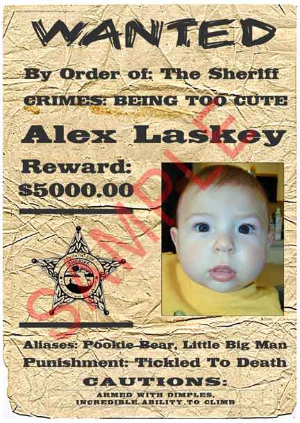 Funny Fake Crimes For Wanted Posters : funny, crimes, wanted, posters, Personalized, Wanted, Poster, Style