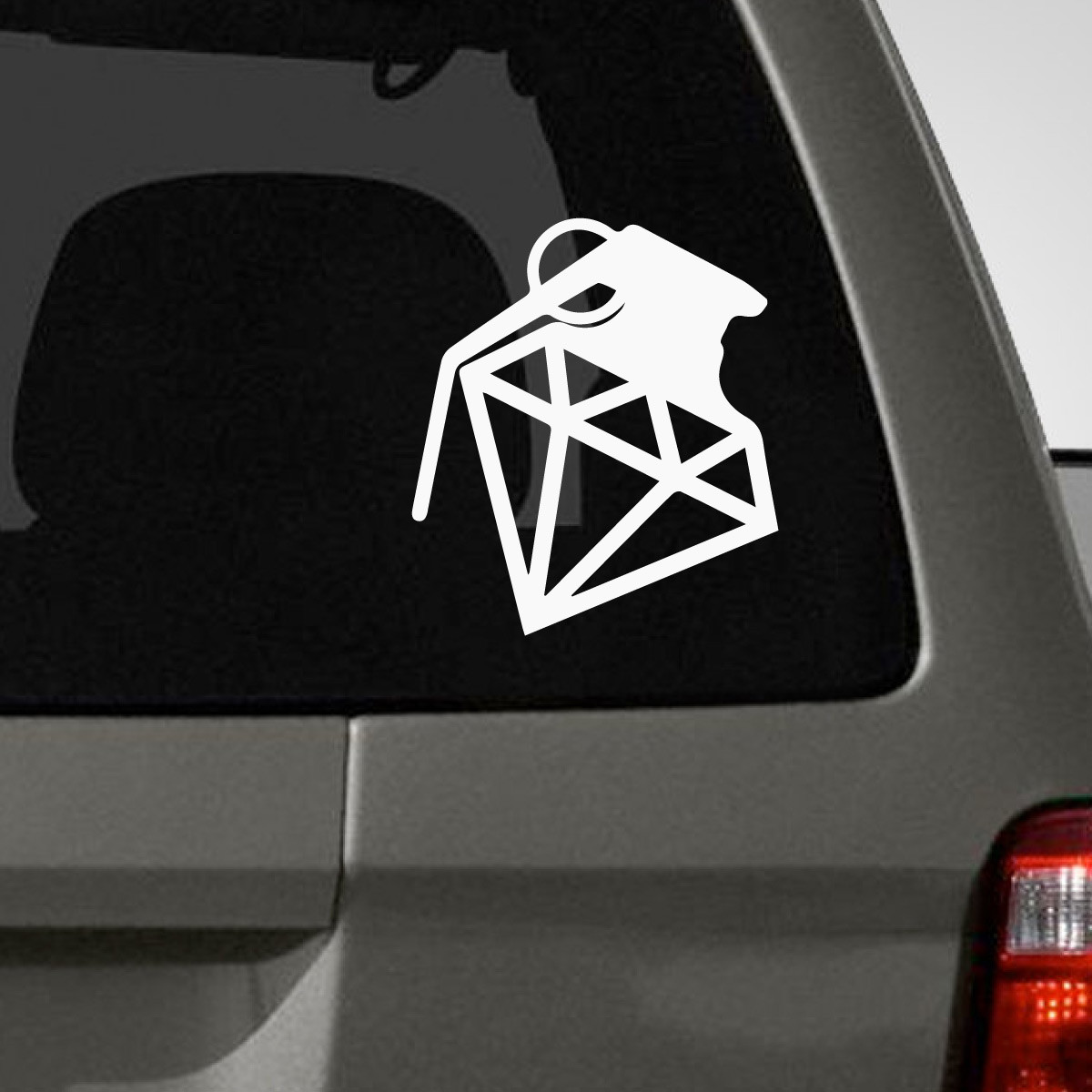 Diamond Grenade Car Decals Decal Guru