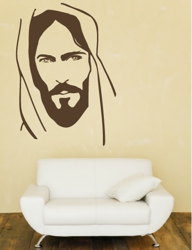 jesus picture wall decals the decal guru