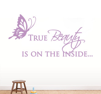 True Beauty Wall Decal Guru
