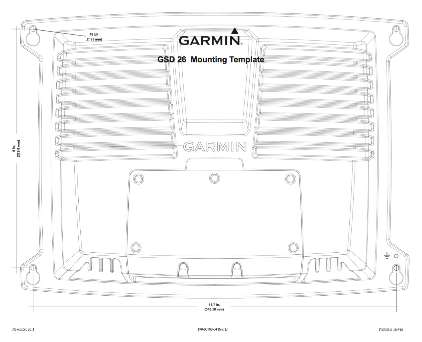 Garmin GSD 26 CHIRP Professional Sonar Module