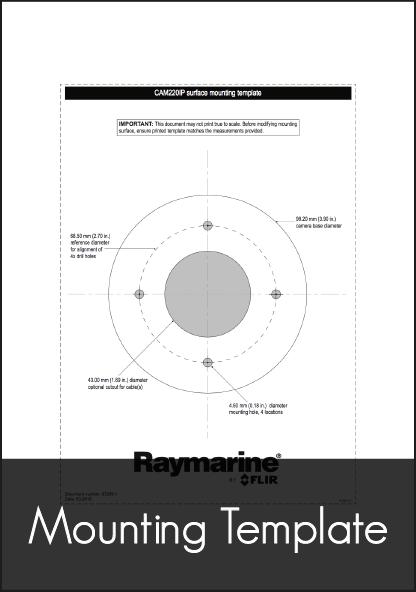 Raymarine CAM220 IP Marine Camera