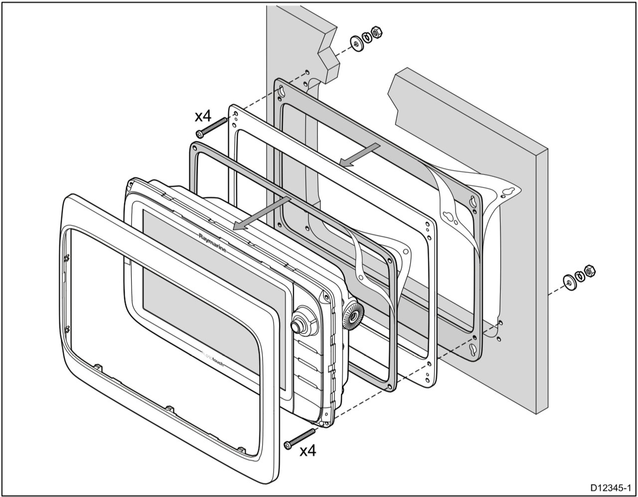 hight resolution of garmin 2010c chartplotter wiring diagrams wiring diagrams raymarine c9 e9 mounting adaptor kit for c80e80 cutout 86470 1437743912 1280 1280 c 2