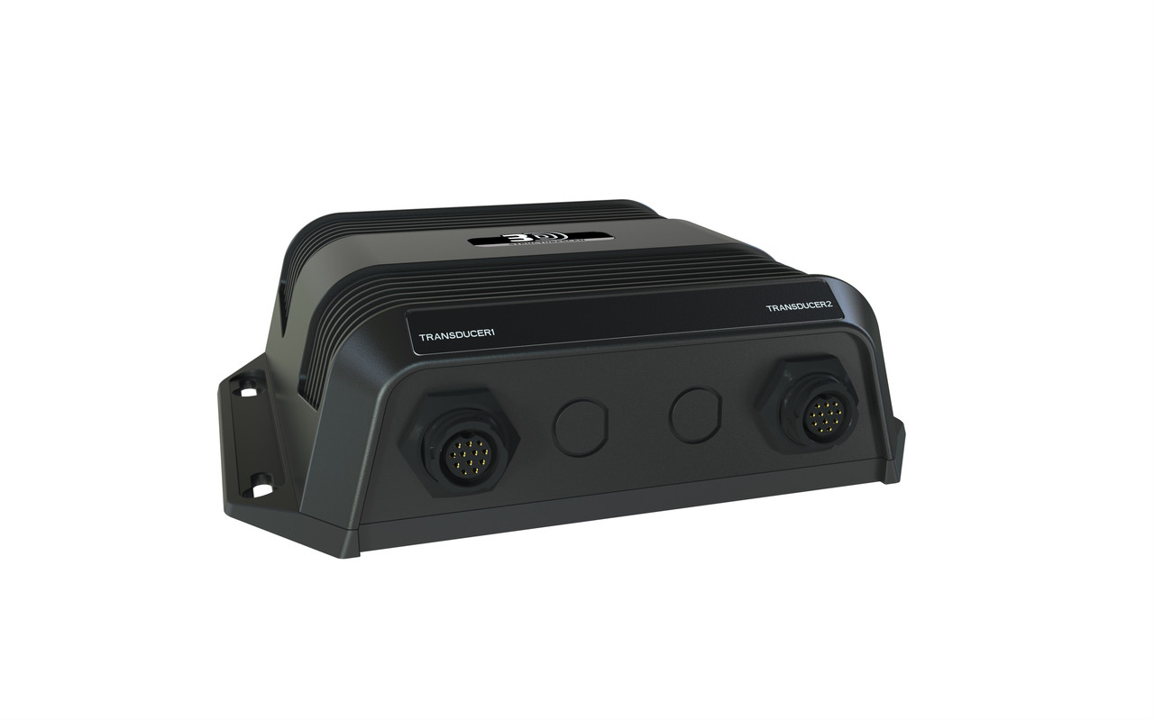hight resolution of  lowrance structurescan 3d sonar module right view