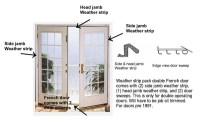 Weatherstrip Doors & Doors Bottom Weatherstrip Sweep ...