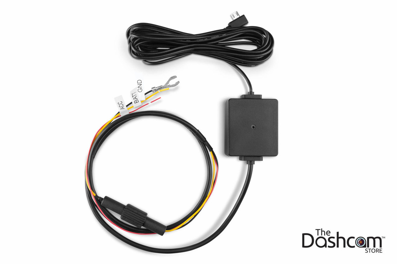 hight resolution of garmin dashcam parking mode kit microusb direct wire power cable garmin striker 4dv wiring harness garmin wiring harness