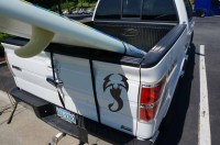 Surfboard & SUP Tailgate Rack - StoreYourBoard.com