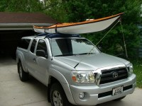 Inflatable Kayak Roof Rack | Universal Soft Kayak Rack ...