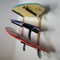 Surfboard Wall Rack | Triple Wood Surf Rack | Scorpion ...