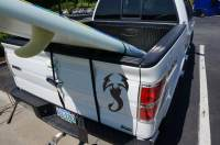 Surfboard & SUP Tailgate Rack - StoreYourBoard.com