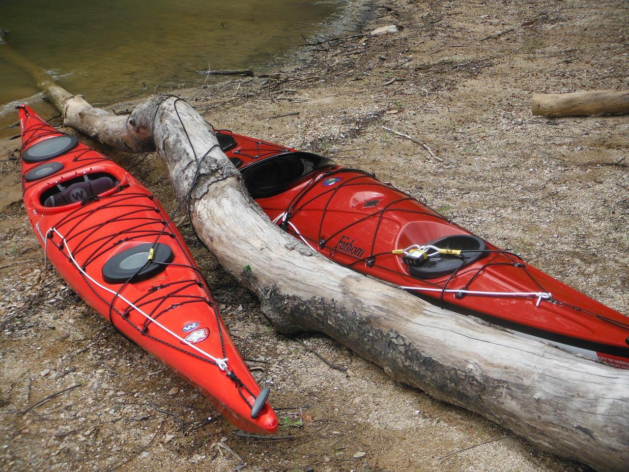 Universal Canoe Locking System  StoreYourBoardcom
