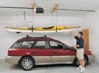 Premium Kayak Hoist | Overhead Kayak Lift Kit ...