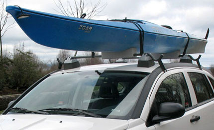 Soft Kayak Roof Rack