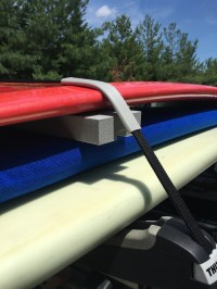 SUP Roof Rack Expansion | Foam Spacer Block ...