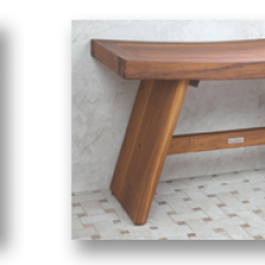 Teak Shower Chairs With Arms Target Kid Asia Stools Benches Aqua