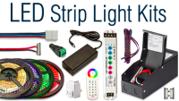How to install LED strip lights under counter | Under ...