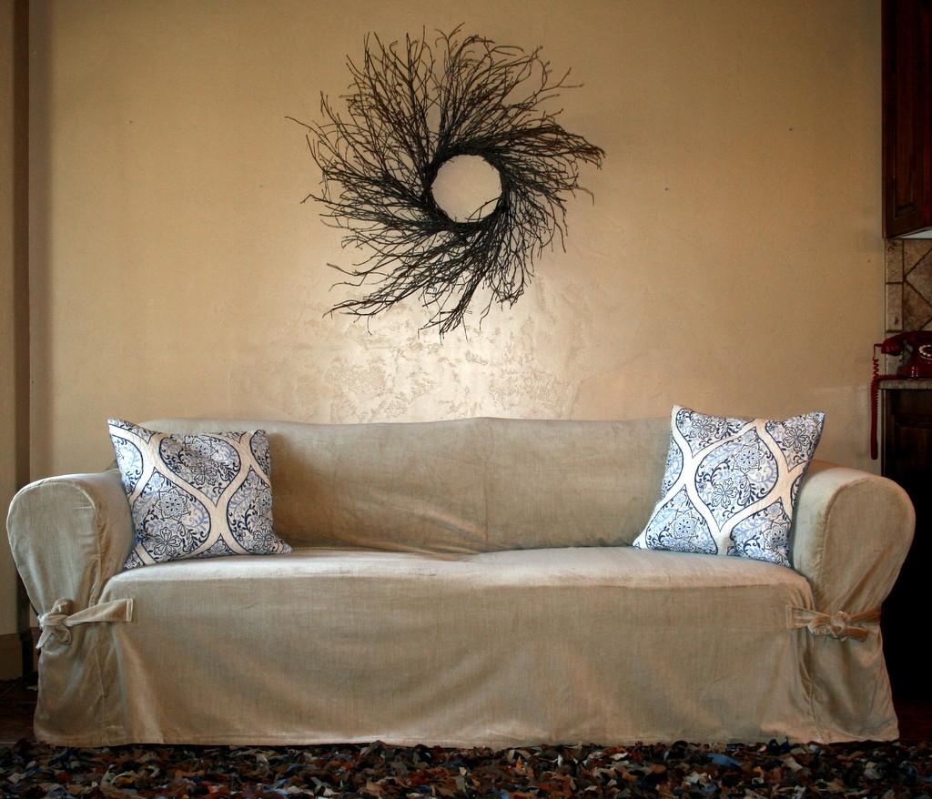 large square sofa cushions feet replacement wood uk uglysofa loosefit cushion tie arm slipcover