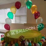 Table Garland M M Balloon Co Of Seattle
