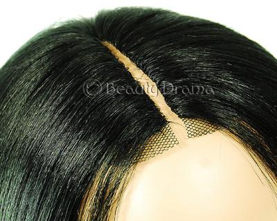 Model Model DreamWeaver 100 Human Hair Invisible Part Closure