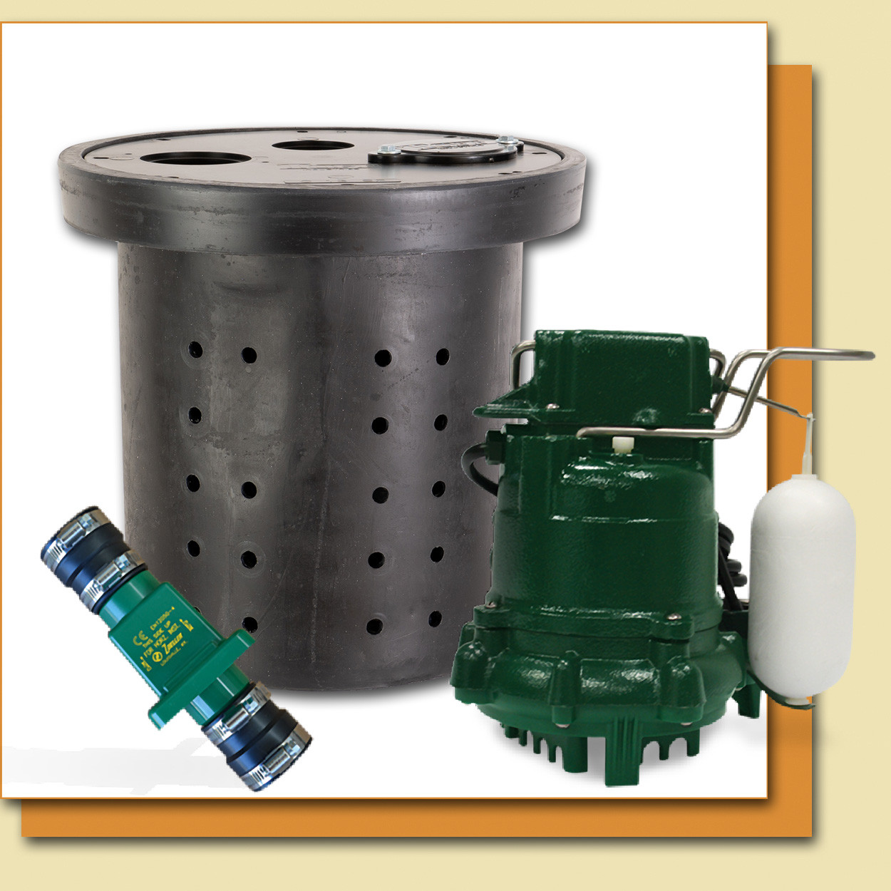 zoeller sump pumps home depot zoeller model 53 basin valve [ 1250 x 1250 Pixel ]