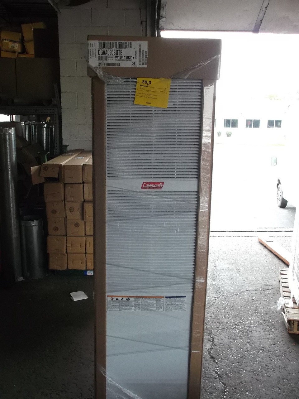Coleman Mobile Home Gas Furnace
