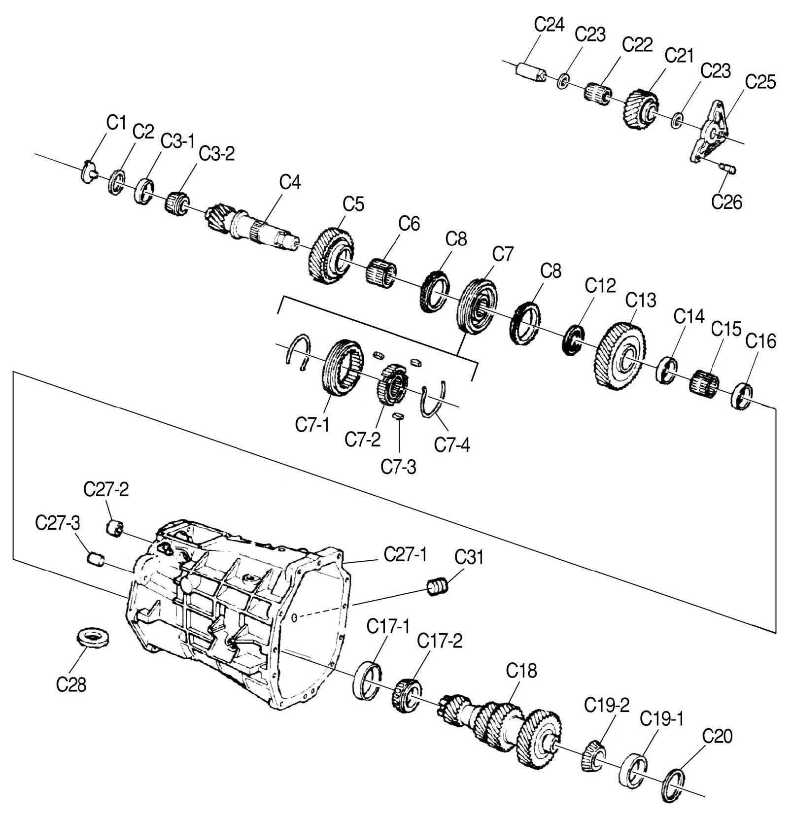 T56 Manual Transmission Diagram, T56, Free Engine Image