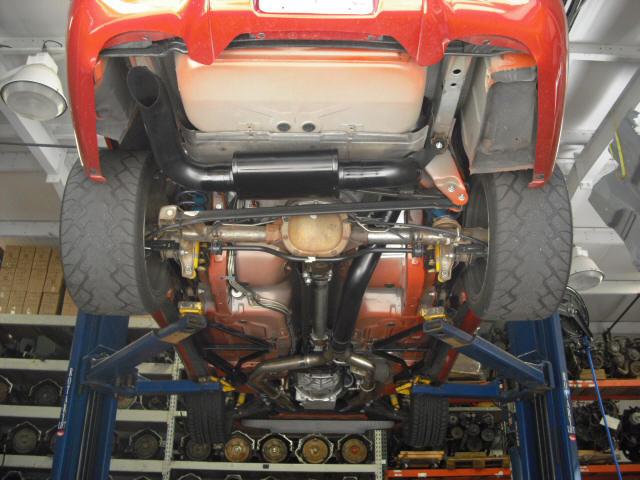 98 2002 camaro firebird ls1 4 inch catback exhaust single 4 hideaway tailpipe with magnaflow race series muffler mufflex