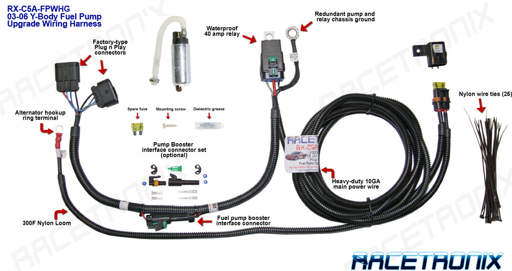 fuel tank wire harness