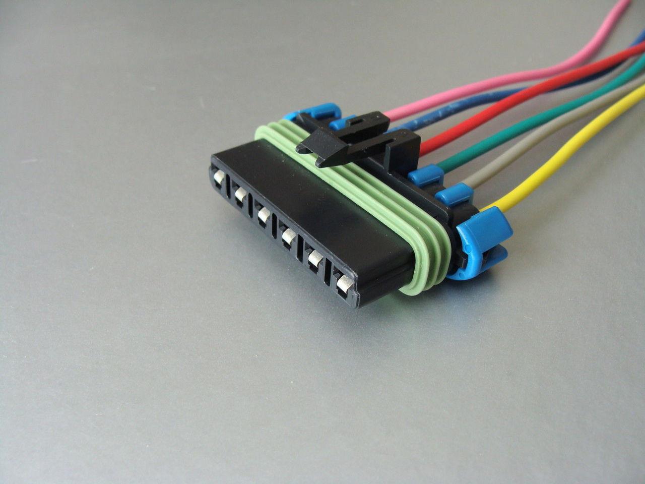 hight resolution of windshield wiper motor connector 88 92 camaro firebird image 1