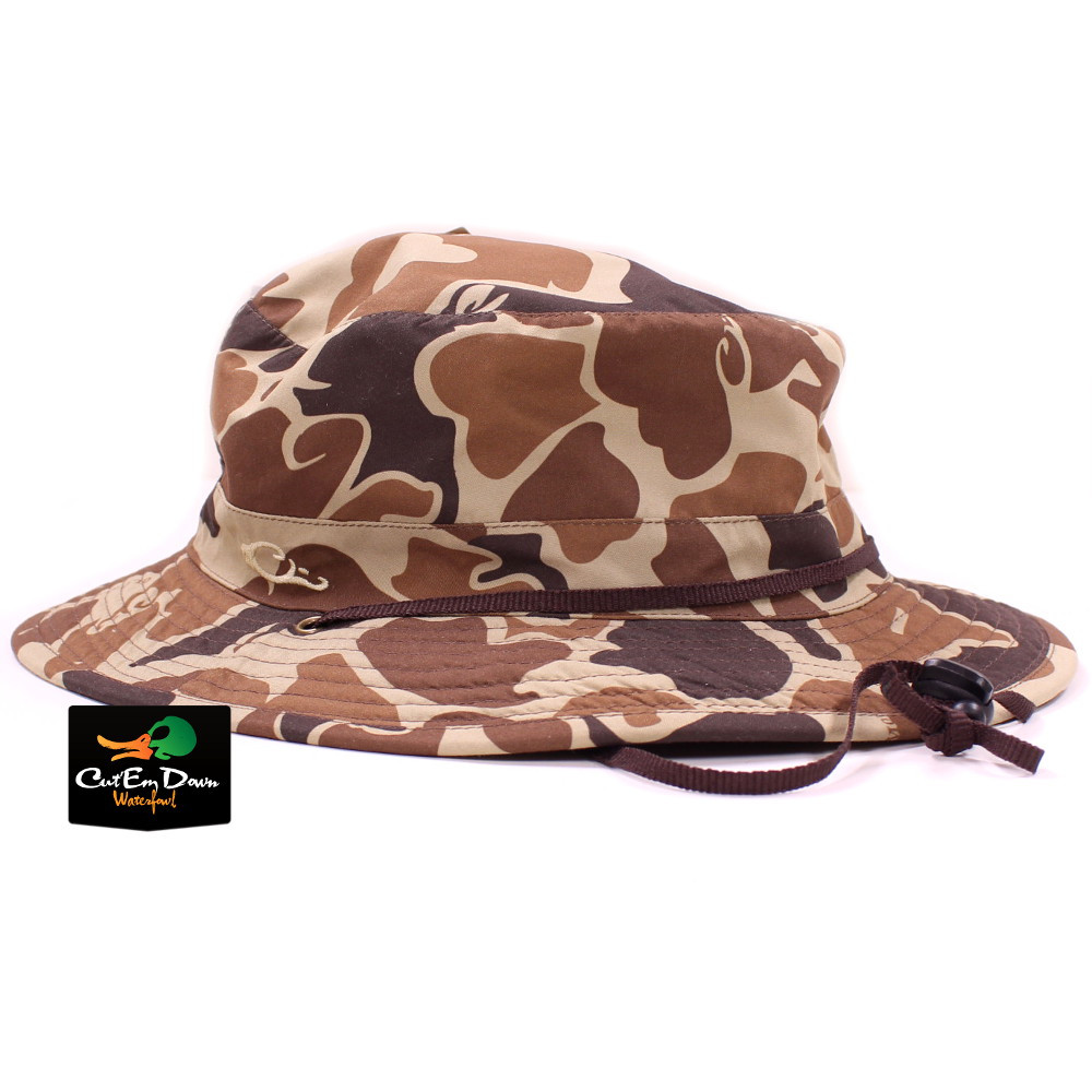 Drake Waterfowl Systems Waterproof Boonie Hat Cap