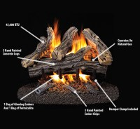 Gas Log: Gas Log Glowing Embers
