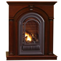 HearthSense Natural Gas Ventless Gas Fireplace - 20,000 ...