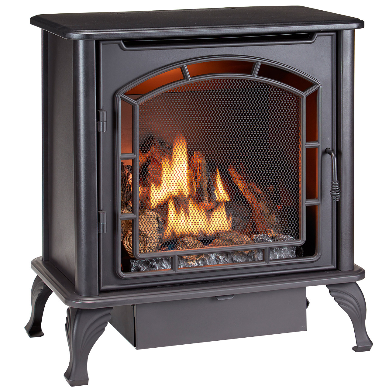 Duluth Forge Dual Fuel Ventless Gas Stove - Model DF25SMS, TSTAT - Factory Buys Direct